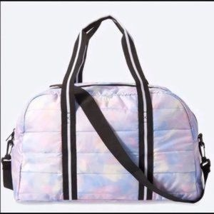 Victoria's Secret Quilted Duffle Bag NWT